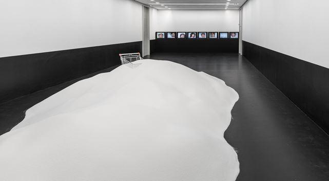"""Ausstellung """"Altered States – Substanzen in der zeitgenössischen Kunst"""" in Erlangen, Thomas Rentmeister"""