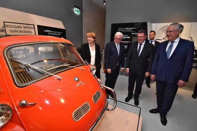 Einweihung des LEZ mit Bundespräsident Frank-Walter Steinmeier. © Ludwig-Erhard-Haus